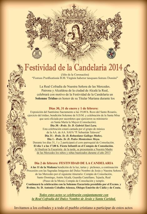 Cartel Candelaria 14